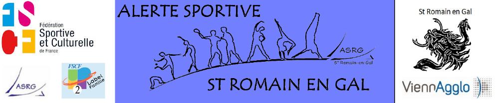 Alerte Sportive de Saint Romain en Gal 9f4e7a3d201